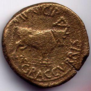 As Hispanorromano de GRACURRIS bajo Tiberio 728242354