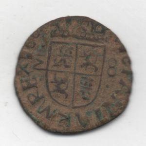 "8 Maravedíes ""busto"" de Felipe IV (1661-1664) falsa de época 73208219"