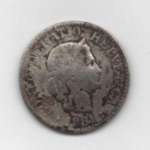 10 Rappen de Suiza, 1881 756897413