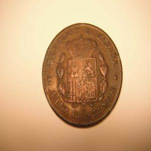 10 CTS DE 1879 FALSA CON OTRA CARACTERISTICA DELATORA 761008374