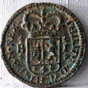 1 Maravedíe de Felipe V (Barcelona, 1720) 766137319