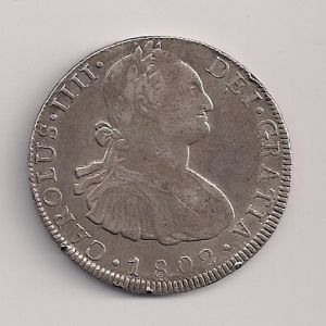8 Reales de Carlos IV (Potosí PP, 1802) [WM n° 7576] 791648789