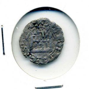 Maravedí Prieto o Dinero alfonsí de Alfonso X (sin ceca, 1256) [Roma 196.1] 804923488