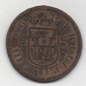 8 Maravedís de Felipe III (Segovia Ingenio, 1603) 811953769