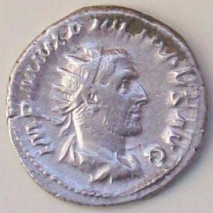 Antoniniano de Filipo I (el Árabe). ANNONA AVGG. Roma 812111138