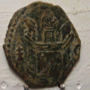Blanca de Felipe II (Cuenca, 1558-1573) ensayador Pedro Roman (cruz patriarcal) 83629647