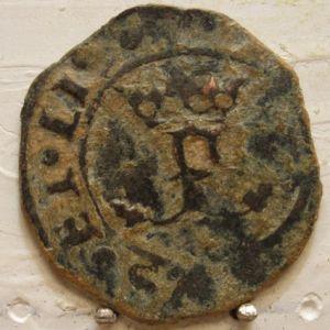 Blanca a nombre de los Reyes Católicos (¿Burgos, Cuenca?; S. XVI) 844738374