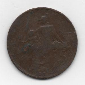 Francia, 5 céntimos, 1906. 84827487
