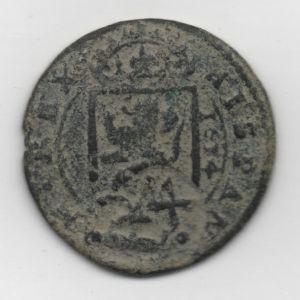 8 Mrs. de Felipe III (Segovia, 1624) con resello falso de 1641 854648360
