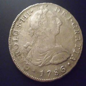 8 Reales de Carlos III (Lima, 1788) 865146255
