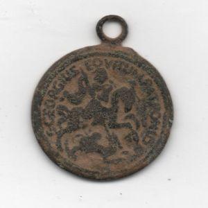 Medalla de San Jorge y el dragón (S. XIX) 872726061