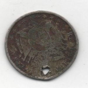 Bolivia, 5 Centavos, 1892 878959100