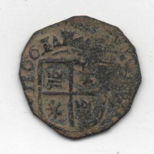 "8 Maravedíes ""busto"" de Felipe IV (1661) falsa de época 884836338"