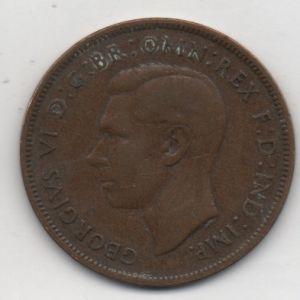 Reino Unido, 1 Penique, año 1937 88818367