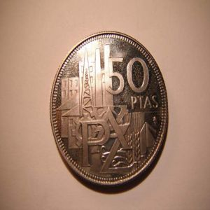 50 PTS 25 AÑOS DE PAZ................ 888225234