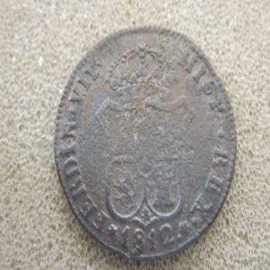 moneda III quartos 1812  891614595