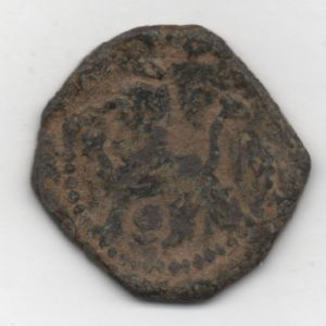 Ochavo (o 2 maravedís) de Felipe II (Cuenca, 1585) ensayador X 892123576