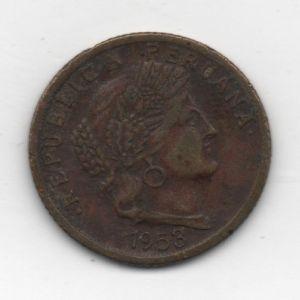 Perú, 10 centavos, 1958. 904454710