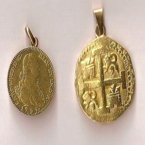 2 Escudos de Carlos IV (Madrid 1797)  90581582
