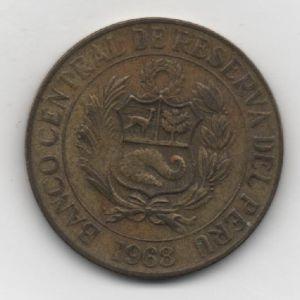 Perú, 1 Sol Oro, 1968 906531086