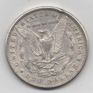 EUA, 1 dollar, 1896. 909789364