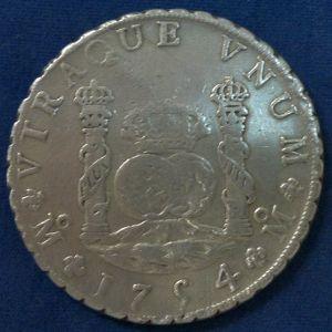 8 Reales de Fernando VI (México, 1754) 910947504