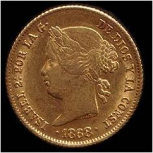 1890 Philippines Alfonso XIII 4 pesos 914109389