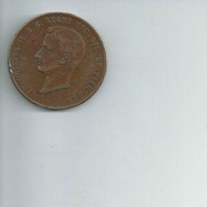 Dos Sicilias, 10 tornesi de 1859 917853771