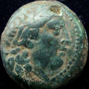 AE 21 seleucida de Seleuco I Nikator, acuñada en Antioquia ad Orontes 979758128