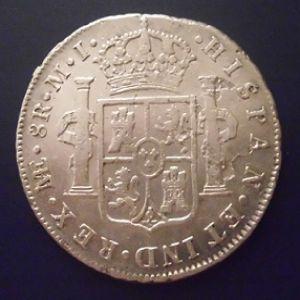 8 Reales de Carlos III (Lima, 1787) 995195728
