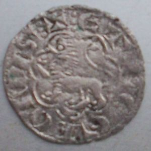 Dinero Seisén -antes llamado noven- de Alfonso X (Sevilla, 1277) [Roma 207, 5] 996746205