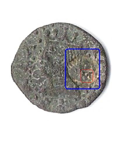 Diner de Felipe I -II de Castilla- (Vic, emisión de 1574) con RESELLO 16002845
