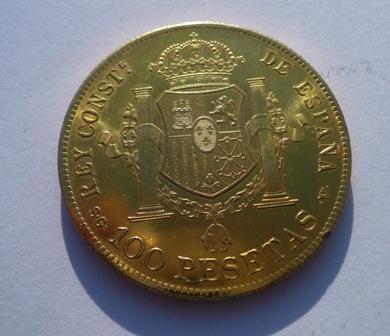 Pregunta: 100 pesetas de Alfonso XIII 219777946