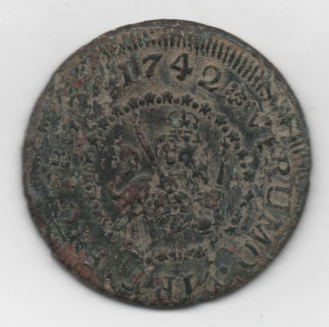 4 Maravedís de Felipe V (Segovia, 1742) 250278569