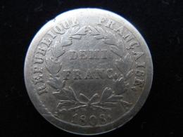 Francia - 1/2 Franco de Napoleón (1808, Paris) 25825811