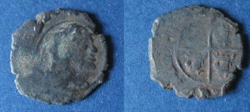Dinero de Felipe V (Zaragoza, 1710-1719) 304630592