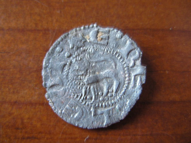 Dinero de Enrique II, antiguamente Infante D Enrique (Sevilla, 1366-1369) [Roma nº 249, A] 331130961