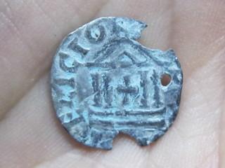 Reino de Francia - Dinero 'au temple' de Louis le Pieux 411231656