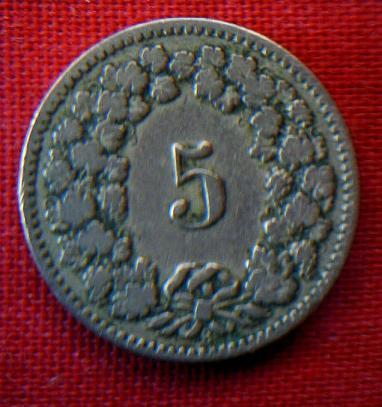 5 centimos de franco suizo 593782156
