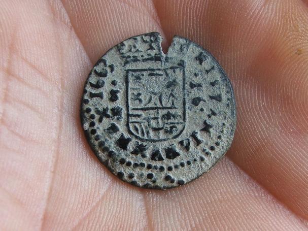 """16 Maravedis """"busto"""" de Felipe IV (Sevilla, 1663) 59675298"""