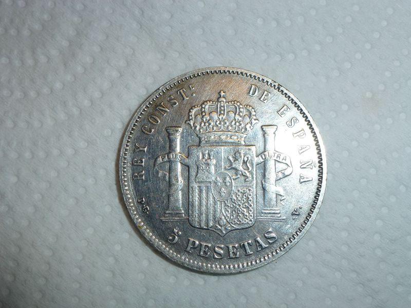 5 pesetas Alfonso XIII 1988 MSM 653310899