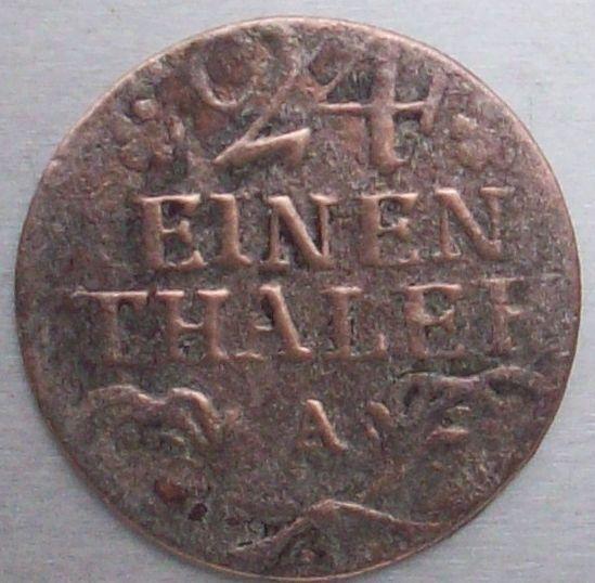 Prusia, 1/24 thaller, 1783. 772392980