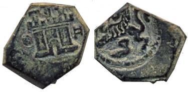2 Maravedís de Felipe IV (Coruña, 1651-1652) 778160487
