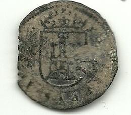 8 Mrs de Felipe III ó IV (Segovia, Real Ingenio, 1602-1626) con resello XII//1641-2 846707890