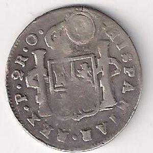 2 Reales de los partidarios de Fernando VII 102072208