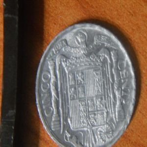 5 centimos 1945 102929029
