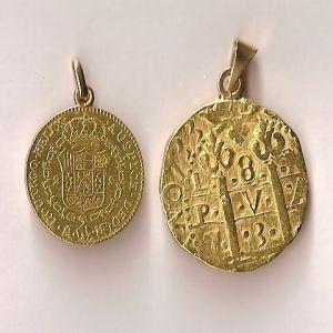 2 Escudos de Carlos IV (Madrid 1797)  104327868