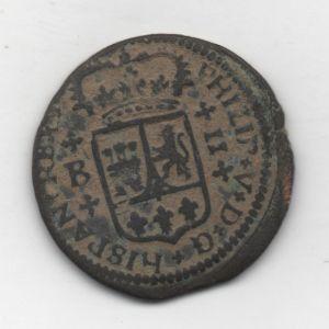 2 Maravedís de Felipe V (Barcelona, 1720) 111736606
