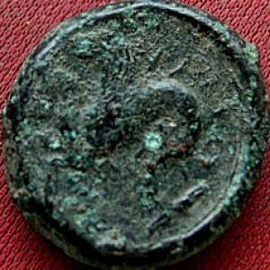 Litra de bronce de Siracusa , Sicilia acuñado en Tiempos de Timoleón (344-336 a.C.) 146987732