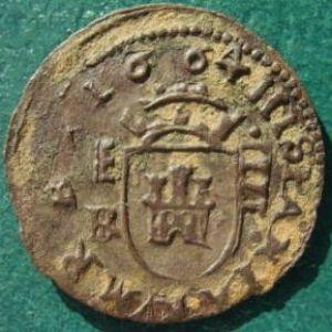 "4 Maravedíes ""busto"" de Felipe IV (Segovia, 1664) [WM n° 8690] 14850721"